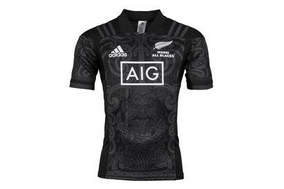 Nueva Zelanda Maori All Blacks 2017 M/C - Camiseta de Rugby