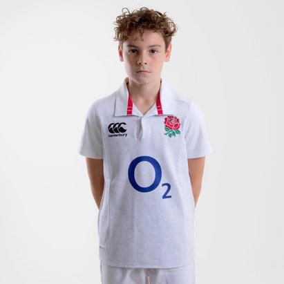 Inglaterra 2018/19 Home Clásica Niños M/C - Camiseta de Rugby