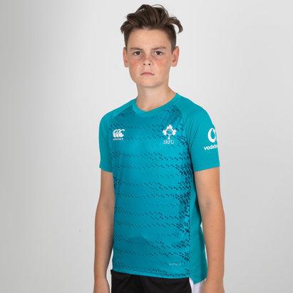 Irlanda IRFU 2018/19 Niños Superligera Rugby - Camiseta de Entrenamiento