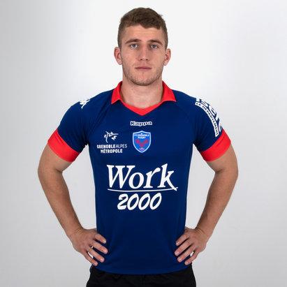 FC Grenoble 2018/19 Replica Home Camiseta de Rugby