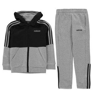 adidas 3 Stripe  Jogger Suit Junior Boys