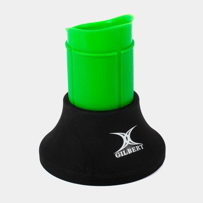 Gilbert Tee de rugby Extensible - Negro/Verde