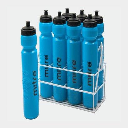 Mitre Metallic Crate 8 Botellas de Agua x 1ltr