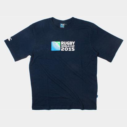Canterbury RWC 2015 Logo Niños - Camiseta de Rugby