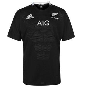 adidas New Zealand All Blacks Home Rugby Shirt 2018 2019