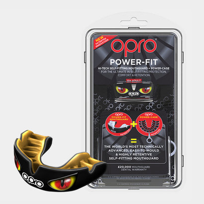 Opro Power Fit Mouth Guard Black