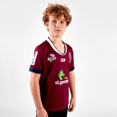 Dynasty Sport Queensland Reds 2019 Kids Home Replica Shirt