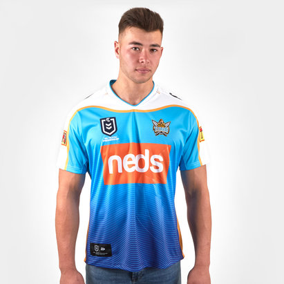 Dynasty Sport Gold Coast Titans 2019 NRL Heritage S/S Rugby Shirt