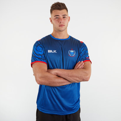 BLK Samoa RWC 2019 Replica Training T-Shirt