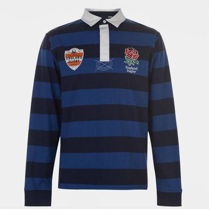 RFU England Bold Stripe L/S Shirt Mens