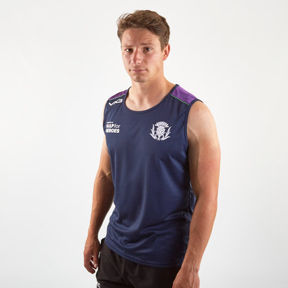 VX3 Help for Heroes Scotland 2019/20 Rugby Vest