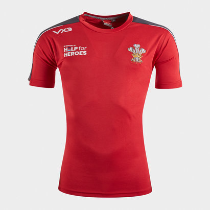 VX3 Help for Heroes Wales 2019/20 Rugby T-Shirt