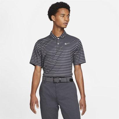 Nike Essential Stripe Polo Shirt Mens