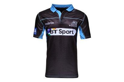 Macron Glasgow Warriors 2015 Home M/C Réplica - Camiseta de Rugby