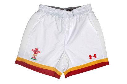 Under Armour Gales WRU 2016/17 Primera Equipación Niños - Shorts de Rugby