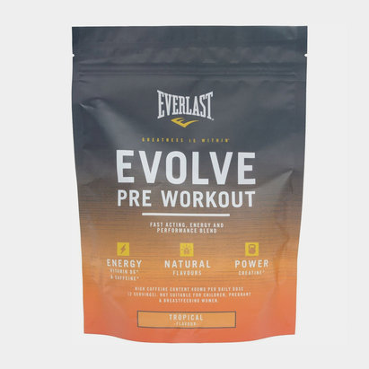 Everlast Evolve Pre Workout Powder