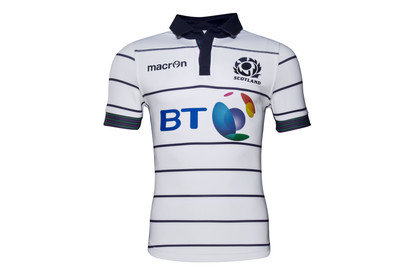 Macron Escocia 2016/17 Alternativa M/C Test - Camiseta de Rugby