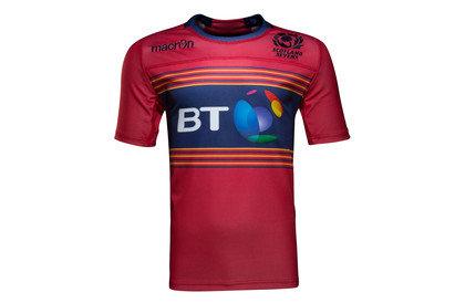 Macron Escocia 7s 2016/17 Alternativa M/C Réplica - Camiseta de Rugby