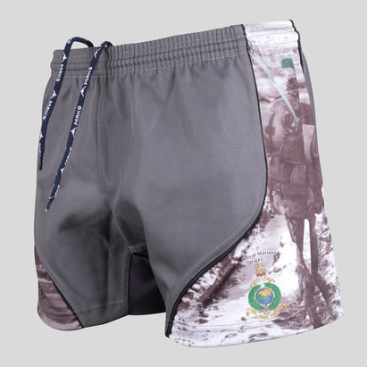 Kitworld Royal Marines Falklands Edición Limitada Charity - Shorts de Rugby