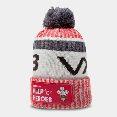 VX3 Wales Help For Heroes Bobble Hat