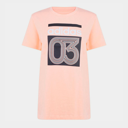 adidas 03 QT T Shirt Ladies