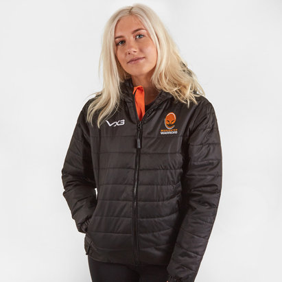 VX3 Worcester Warriors 2019/20 Ladies Pro Quilted Rugby Jacket