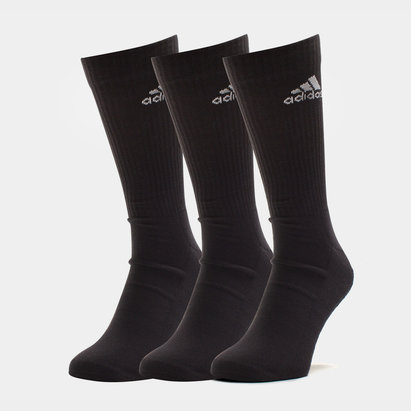 3 Pk adidas 3 Stripe Performance Crew - Calcetines