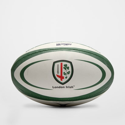 Gilbert London Irish Oficial Réplica - Balón de Rugby
