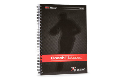 Precision Training A5 Rugby Union Pro-Coach - Libreta