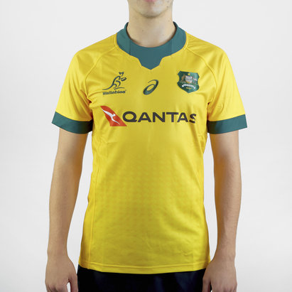 Asics Australia 2020/21 Home Jersey Mens