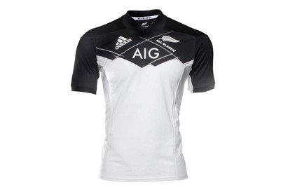 adidas Nueva Zelanda All Blacks 2017 Alternativa M/C - Camiseta de Rugby