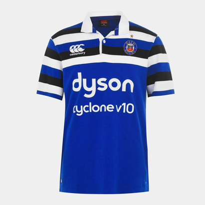 Canterbury Bath Rugby 18/19 S/S Classic Home Shirt Mens