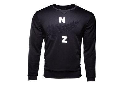 adidas Nueva Zelanda All Blacks 2017/18 Collegiate Crew Rugby - Camiseta