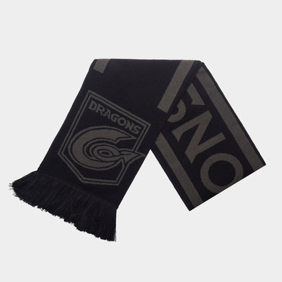 Dragons Monotone Supporters Rugby Scarf