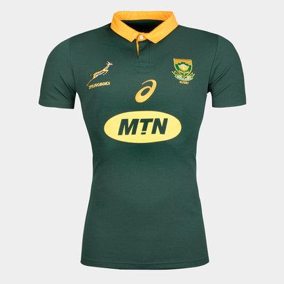 Asics Sudáfrica Springboks 2017/18 M/C Home Pro - Camiseta de Rugby