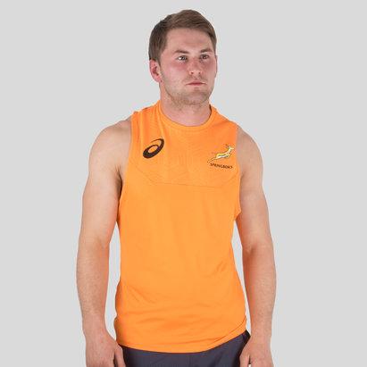 Asics Sudáfrica Springboks 2017/18 Players Rugby - Camiseta de Entrenamiento