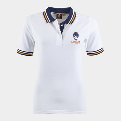 Worcester Warriors Ladies Off Field Rugby Polo Shirt