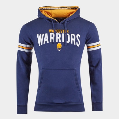 Worcester Warriors Graphic Hooded Rugby Sweat