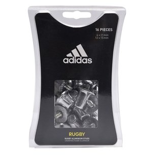 adidas Tacos de Rugby Aluminio 15mm & 18mm