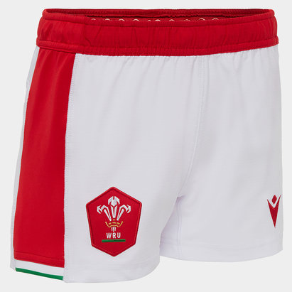 Canterbury Wales Home Shorts 2020 2021 Junior