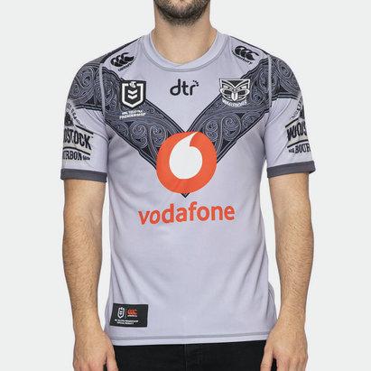 Canterbury New Zealand Warriors NRL 2020 Te Mangopare Alternate Shirt