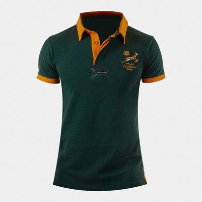 VX3 Sudafrica Springboks 2019 Camiseta Winners de Rugby para Niños