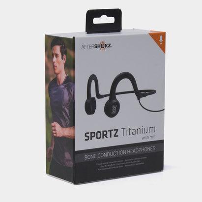 Aftershokz Sportz Titanium con Micrófono Conductor - Auriculares
