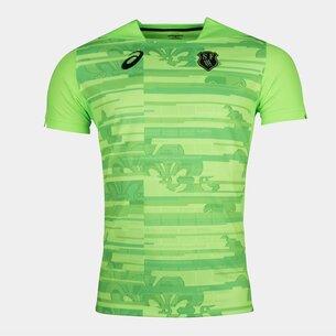 Asics Stade Francais 2017/18 3a Réplica M/C - Camiseta de Rugby