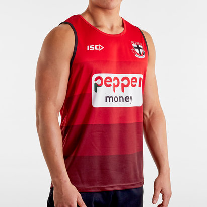 ISC St Kilda Saints 2020 AFL Players Training Singlet