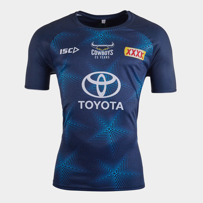 ISC North Queensland Cowboys NRL 2020 Players Rugby Training T-Shirt