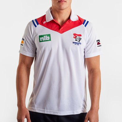 O'Neills Newcastle Knights 2020 NRL Players Rugby Polo Shirt