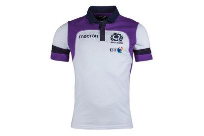 Macron Escocia 2017/18 Alternativa Algodón M/C Réplica - Camiseta de Rugby