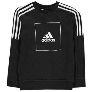 adidas Athletic Club Crew Sweatshirt Junior Boys