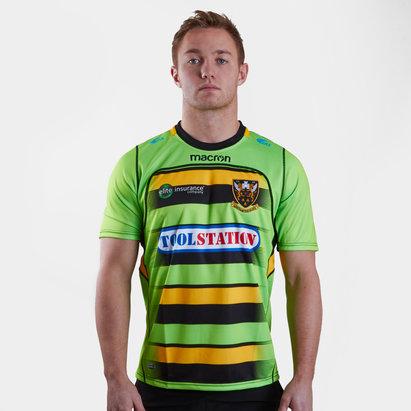 Macron Northampton Saints 2017/18 Alternativa M/C Réplica - Camiseta de Rugby